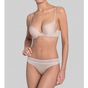 Sloggi Wow! Lace Push-UP BH new beige
