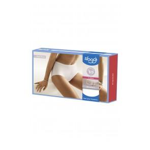 Sloggi Feel Pure Maxi-Slip C2P Doppelpack weiß